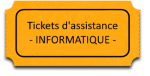 Tickets d'assistance à distance
