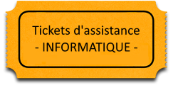 Tickets d'assistance informatique